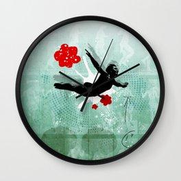 Dive deep locomotion Wall Clock