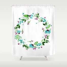 Turquoise and Caicos Shower Curtain