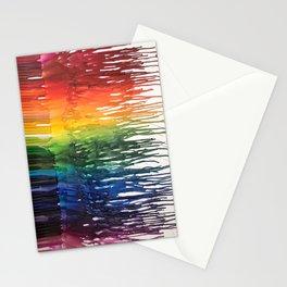 Crayon Melt Stationery Cards