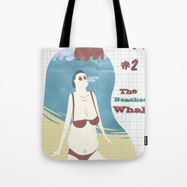 Typical Tourists - The beached whale Tote Bag