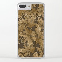 Autumn moods n.6 Clear iPhone Case