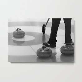 Skip In The House Metal Print