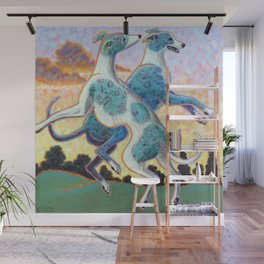 Jumping for Joy Wall Mural