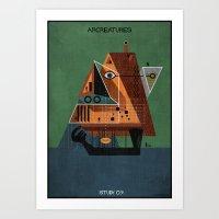 09_ARCREATURES-01 Art Print