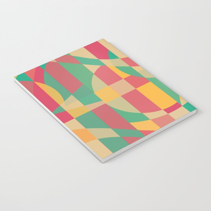 Abstract Graphic Art - Contemporary Music Notebook