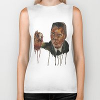 christopher walken Biker Tanks featuring Christopher Walken as Captain Koons by rusto