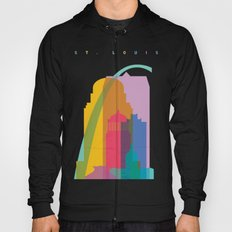 Shapes of St. Louis. Accurate to scale Hoody