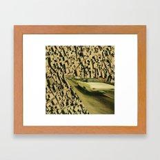 arrange -  plantation lp (backcover) Framed Art Print
