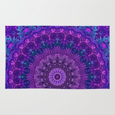 Harmony in Purple Rug