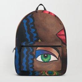 Beautiful Black Woman Backpack
