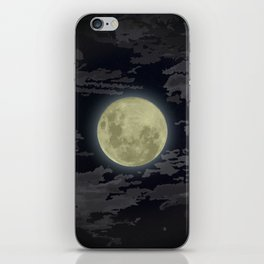 In Love With The Moon iPhone Skin