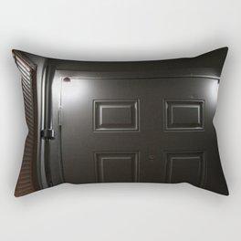 Bar The Door Rectangular Pillow