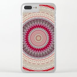 Recreational Maylanta Mandala 68 Clear iPhone Case