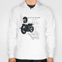 cafe racer Hoodies featuring Rise of the Cafe Racer by RiseoftheCafeRacer