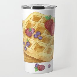 Waffles Travel Mug