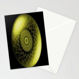 Solar Plexus Yellow Chakra Stationery Cards