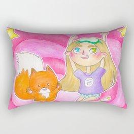TRUSEMARTHE + MIKKELINE POSTER Rectangular Pillow