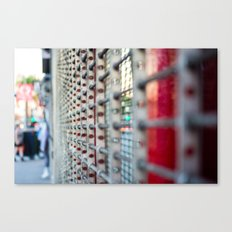 Closed For Business Canvas Print