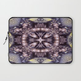 Alien Visitation in Lilac and Lavender Laptop Sleeve