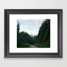 Go Get Lost Framed Art Print