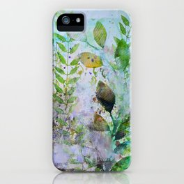 Leaves In The Mist iPhone Case