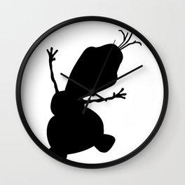 Olaf Shade Wall Clock
