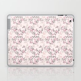 Pink Floral Laptop & iPad Skin