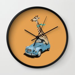 Riding High! (Colour) Wall Clock