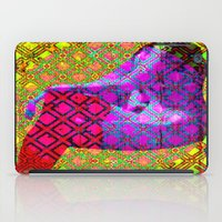 lady iPad Cases featuring LADY by lucborell