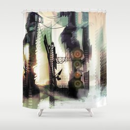 City Lost Shower Curtain