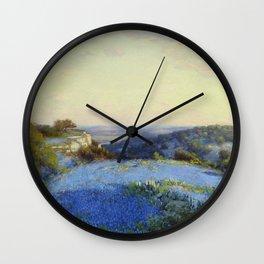 Julian Onderdonk - Near San Antonio Wall Clock