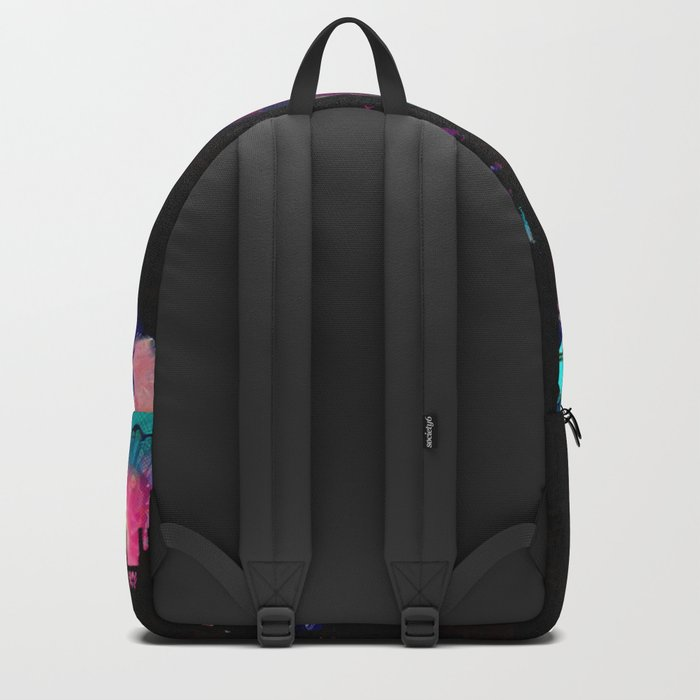 Dame From Buxom Street Backpack