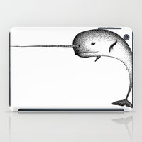 narwhal iPad Cases featuring Narwhal by Nicole Cioffe