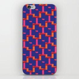 Geometrix / Deep Blue iPhone Skin