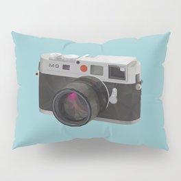 Leica M9 Camera polygon art Pillow Sham