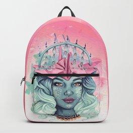 Tsuru Origami Girl Backpack