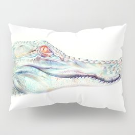 Albino Alligator Pillow Sham