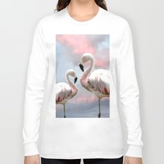 Flamingo Skies Long Sleeve T-shirt