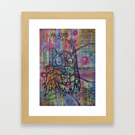 Knowledge of Self Framed Art Print