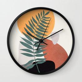 Abstract Shapes No.24 Wall Clock