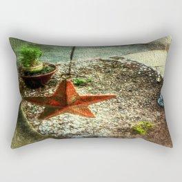 Star of the Porch Rectangular Pillow