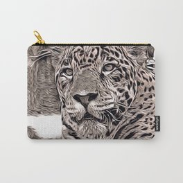 Rustic Style - Jaguar Carry-All Pouch