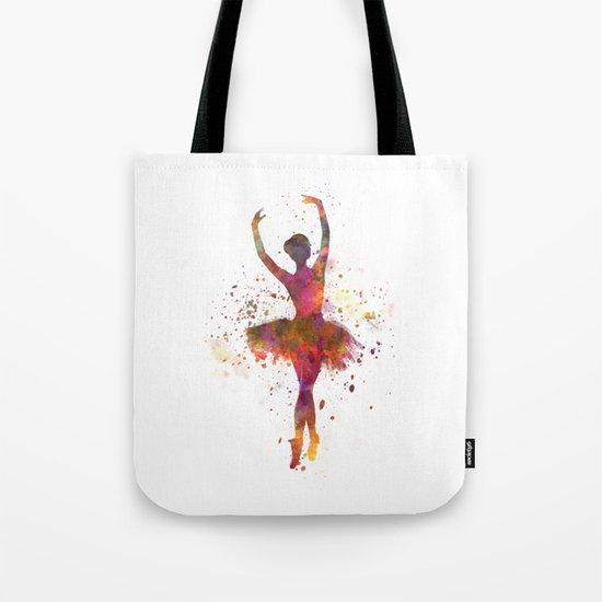 Woman ballerina ballet dancer dancing by crisrommerart