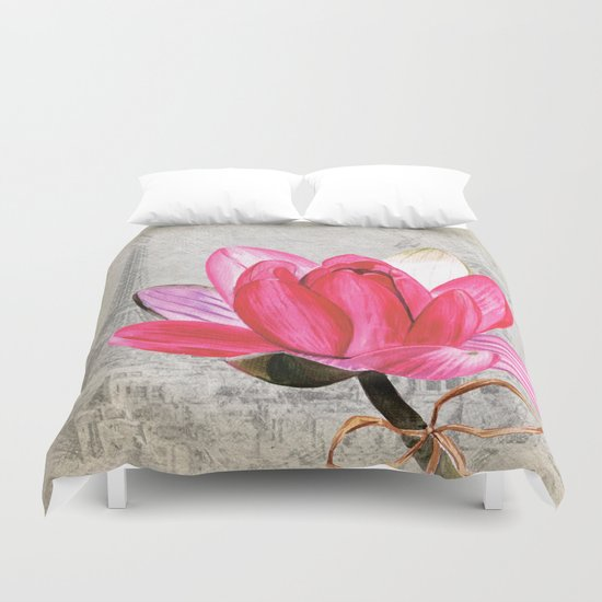 Macro Flower #1 Duvet Cover