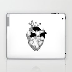 The strongest hearts have the most scars Laptop & iPad Skin