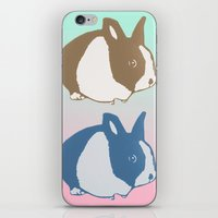 floyd iPhone & iPod Skins featuring Floyd by Tooter