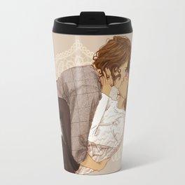 """"""" Hugs and Kisses """" Travel Mug"""