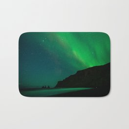 Night with the Northern Lights Bath Mat