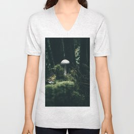 Mushroom Unisex V-Neck