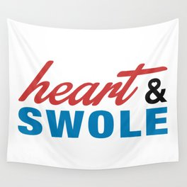 Heart & Swole Wall Tapestry